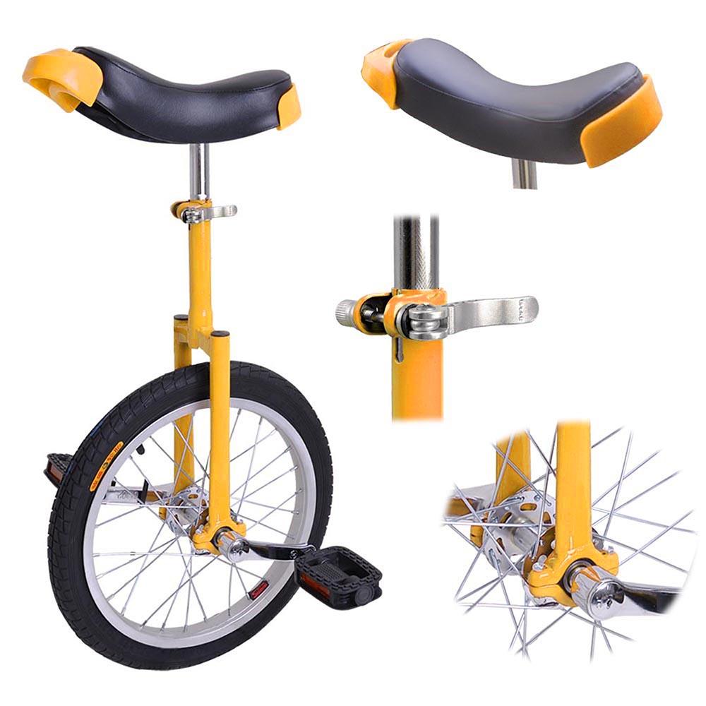 16-18-20-24-034-Unicycle-Wheel-Balance-Uni-Cycle-Fun-Bike-Fitness-Circus-Cycling thumbnail 17