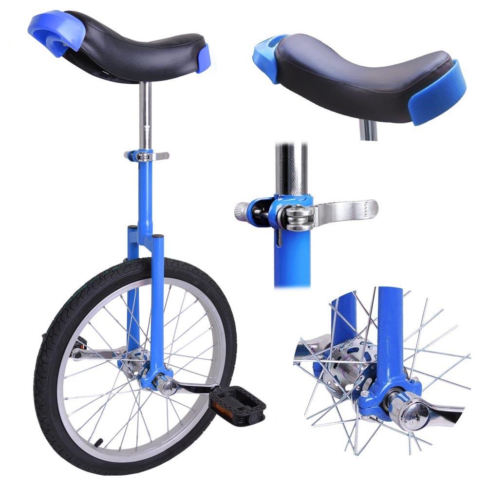 16-18-20-24-034-Unicycle-Wheel-Balance-Uni-Cycle-Fun-Bike-Fitness-Circus-Cycling thumbnail 20