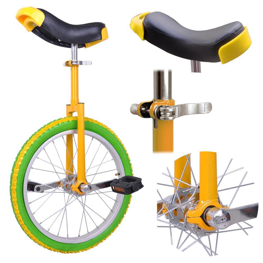 16-18-20-24-034-Unicycle-Wheel-Balance-Uni-Cycle-Fun-Bike-Fitness-Circus-Cycling thumbnail 23