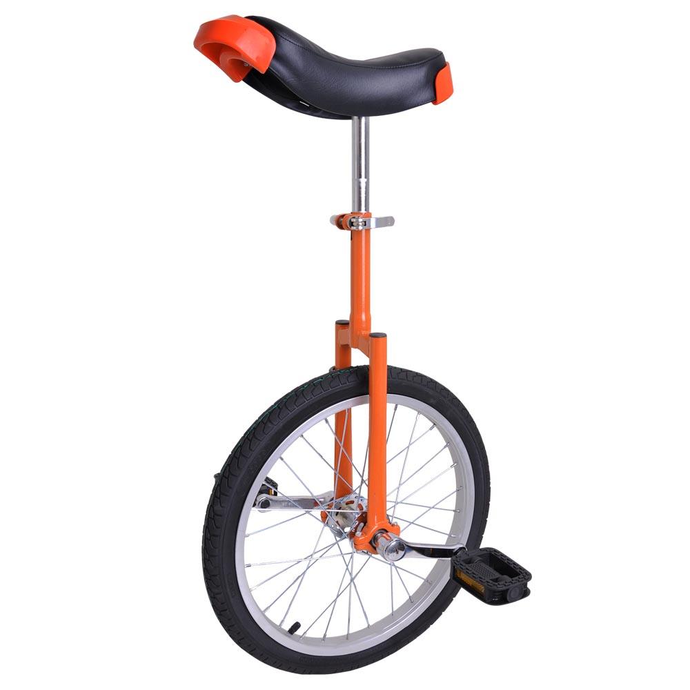"Unicycle 18/"" Mountain Wheel Butyl Tire 2.125/"" Uni-Cycle Chrome Cycling Exercise"
