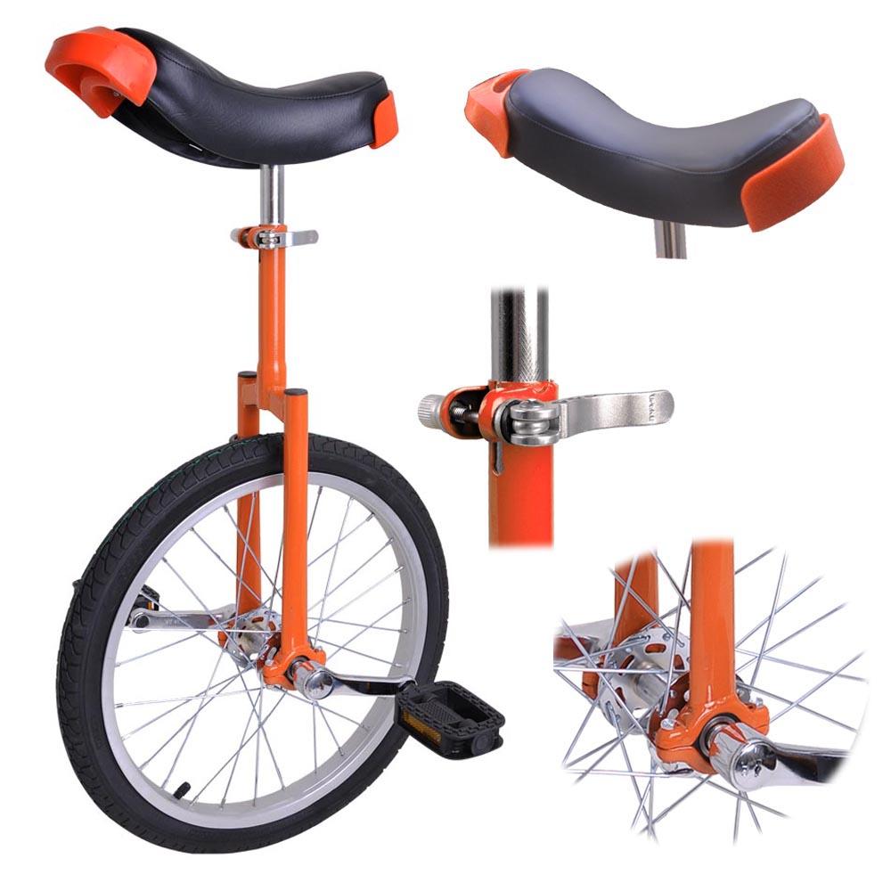 16-18-20-24-034-Unicycle-Wheel-Balance-Uni-Cycle-Fun-Bike-Fitness-Circus-Cycling thumbnail 25