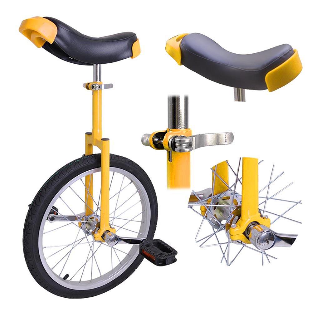 16-18-20-24-034-Unicycle-Wheel-Balance-Uni-Cycle-Fun-Bike-Fitness-Circus-Cycling thumbnail 33