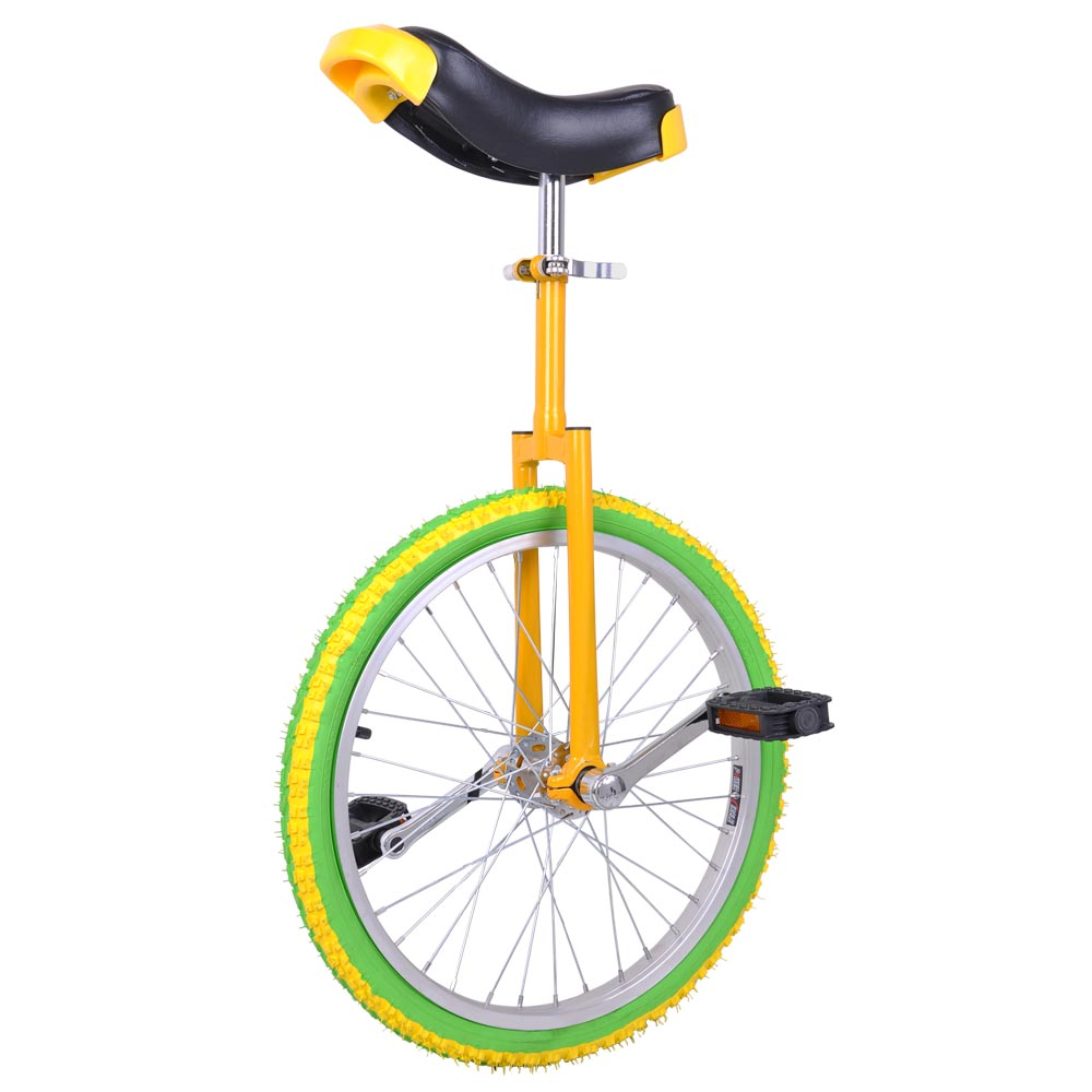 16-18-20-24-034-Unicycle-Wheel-Balance-Uni-Cycle-Fun-Bike-Fitness-Circus-Cycling thumbnail 38