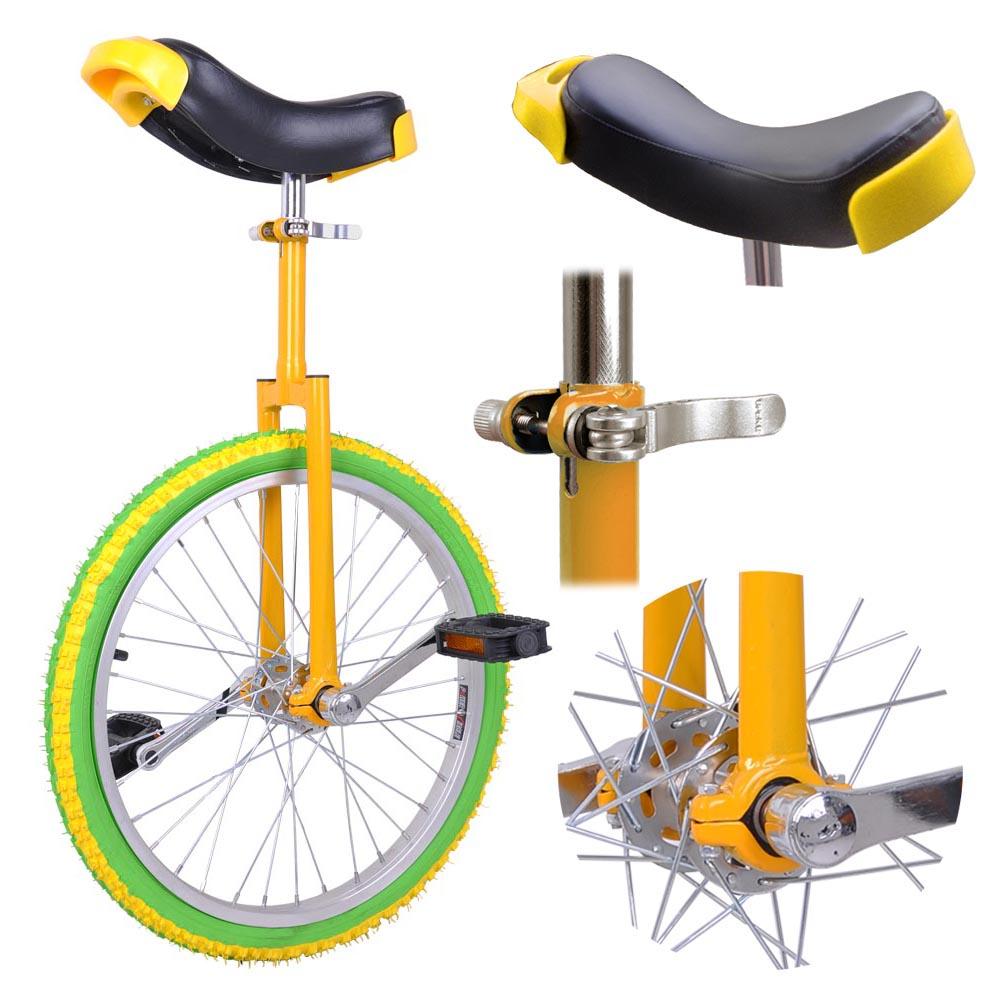 16-18-20-24-034-Unicycle-Wheel-Balance-Uni-Cycle-Fun-Bike-Fitness-Circus-Cycling thumbnail 39