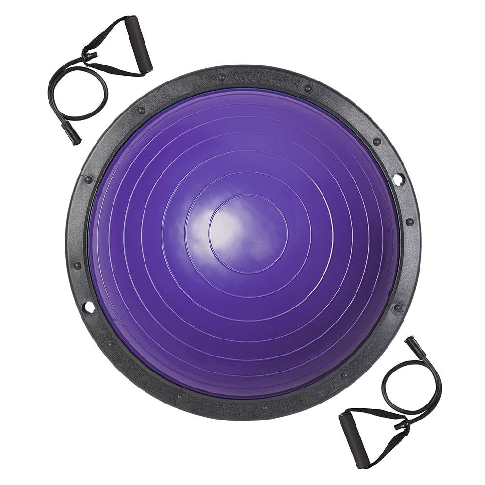 23-034-Yoga-Half-Ball-Balance-Trainer-Exercise-Fitness-Strength-Gym-Workout-w-Pump thumbnail 36