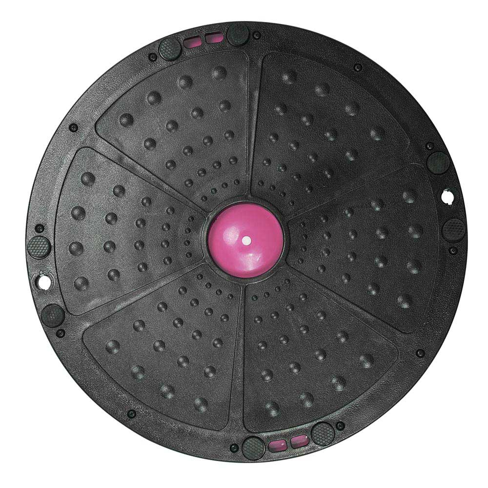 23-034-Yoga-Half-Ball-Balance-Trainer-Exercise-Fitness-Strength-Gym-Workout-w-Pump thumbnail 30