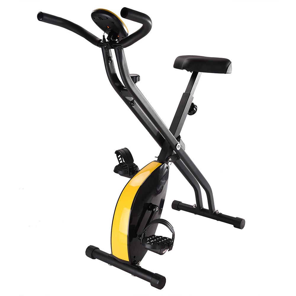 Folding Exercise Bike Home Cycling Magnetic Fitness