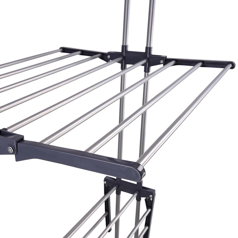 Beau 66 034 Laundry Clothes Storage Drying Rack Portable