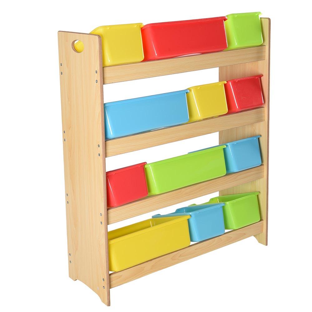 Kids Storage Cube Organizer Toy Box Kids Bedroom Furniture: Toy Bin Organizer Kids Childrens Storage Box Playroom