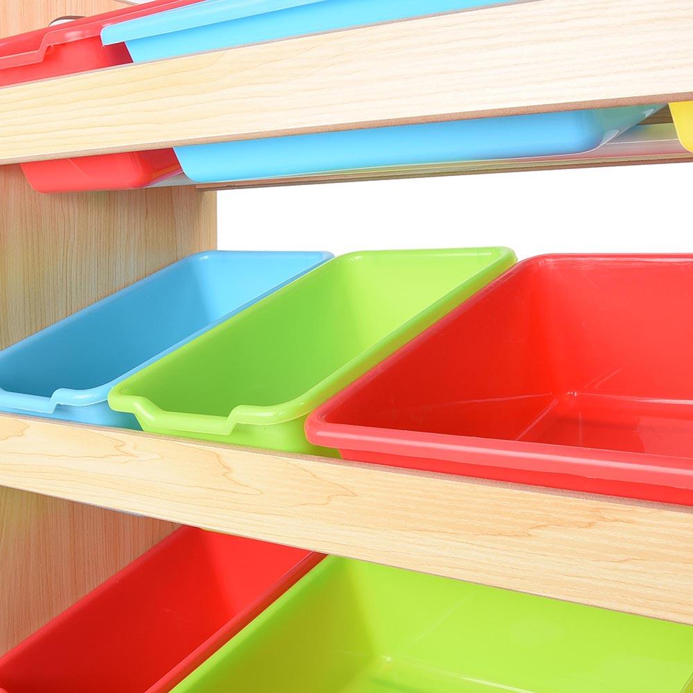 Kids Storage Bench Furniture Toy Box Bedroom Playroom: Toy Bin Organizer Kids Childrens Storage Box Playroom