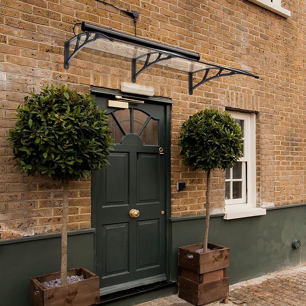 80''x40'' Door Window Outdoor Awning Polycarbonate Patio