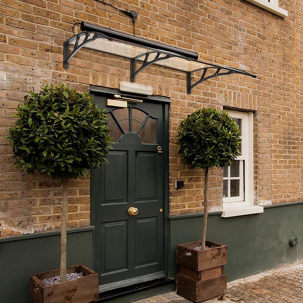 80''x40'' Door Window Outdoor Awning Polycarbonate Patio ...