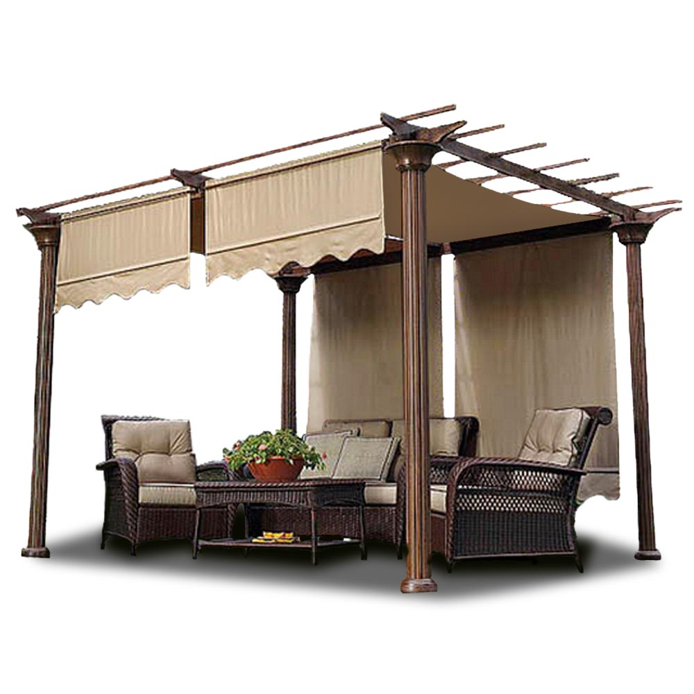 15 5 17 Patio Pergola Canopy Replacement Cover Outdoor