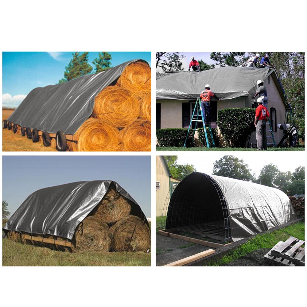 Heavy-Duty-Tarp-Poly-Tarpaulin-Canopy-Tent-Shelter-Reinforced-Resistant-Cover thumbnail 100
