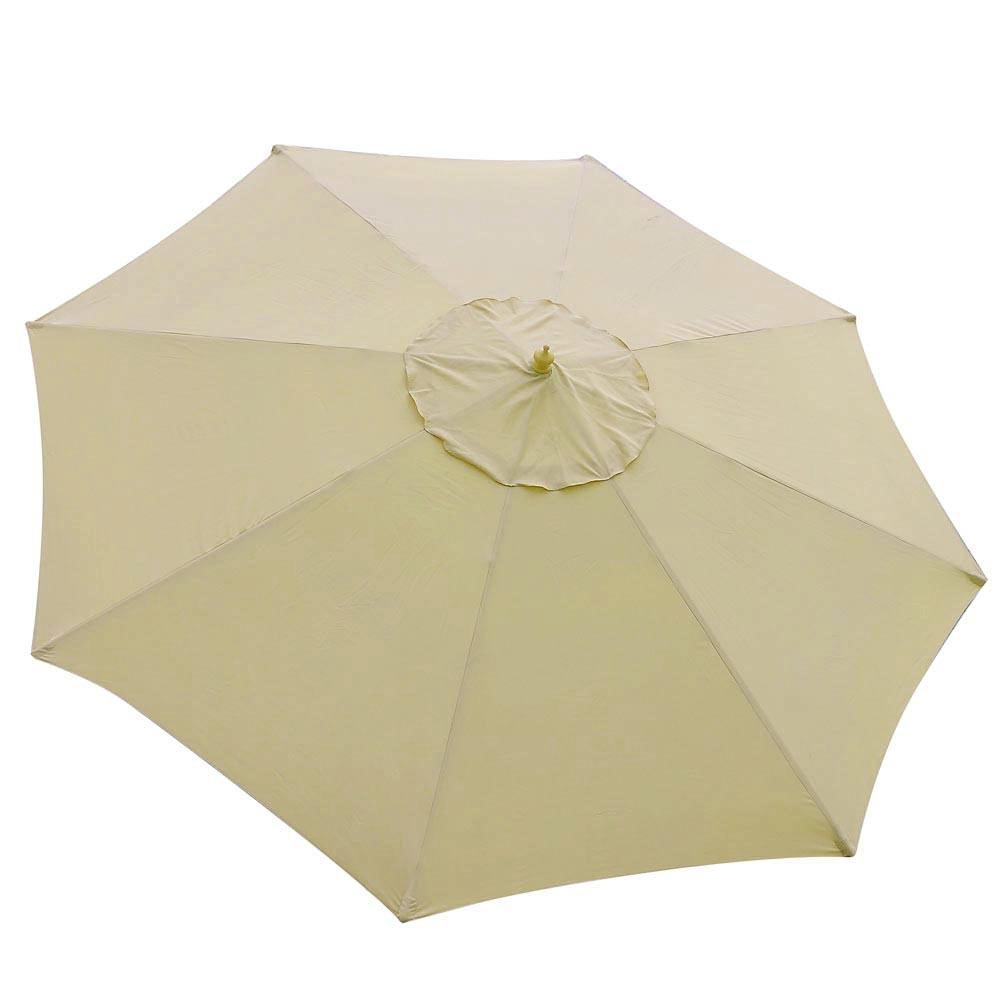 8-039-9-039-13-039-Outdoor-Patio-Wood-Umbrella-Wooden-Pole-Market-Beach-Garden-Sun-Shade thumbnail 8