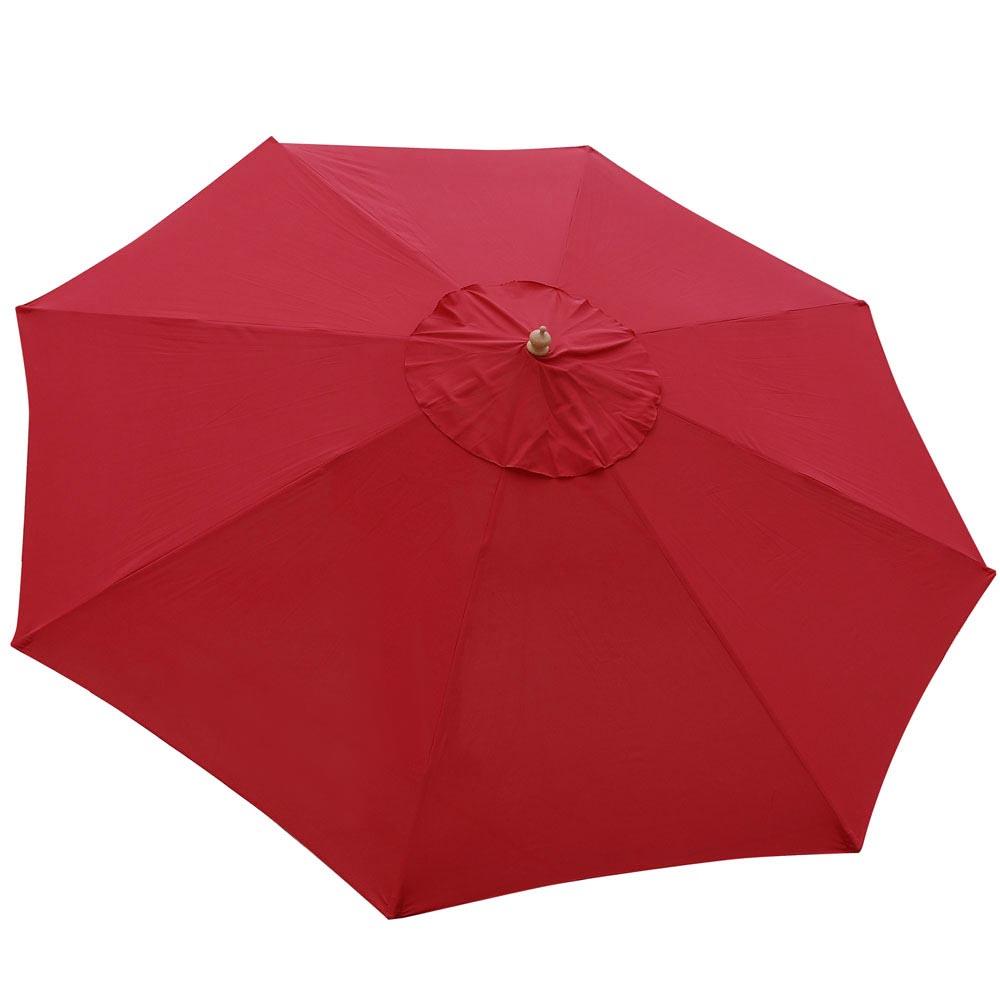 8-039-9-039-13-039-Outdoor-Patio-Wood-Umbrella-Wooden-Pole-Market-Beach-Garden-Sun-Shade thumbnail 37