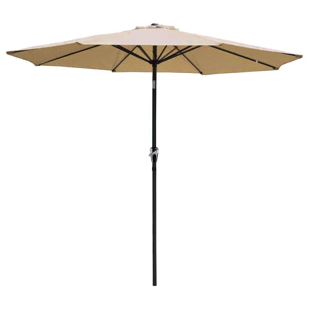 Outdoor-Patio-Umbrella-Aluminum-8ft-9ft-10ft-13ft-Common-LED-Option-Beach-Garden thumbnail 225
