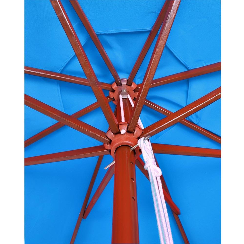 8-039-9-039-13-039-Outdoor-Patio-Wood-Umbrella-Wooden-Pole-Market-Beach-Garden-Sun-Shade thumbnail 87