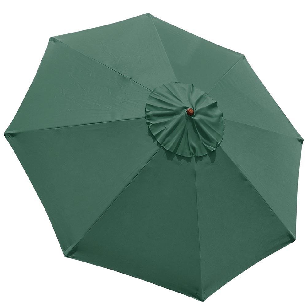 8-039-9-039-13-039-Outdoor-Patio-Wood-Umbrella-Wooden-Pole-Market-Beach-Garden-Sun-Shade thumbnail 96
