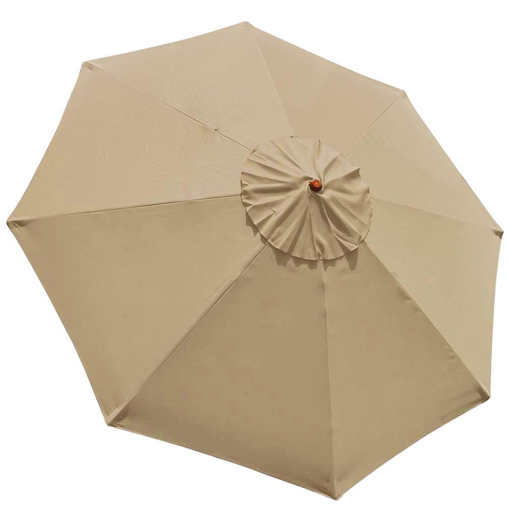 8-039-9-039-13-039-Outdoor-Patio-Wood-Umbrella-Wooden-Pole-Market-Beach-Garden-Sun-Shade thumbnail 113