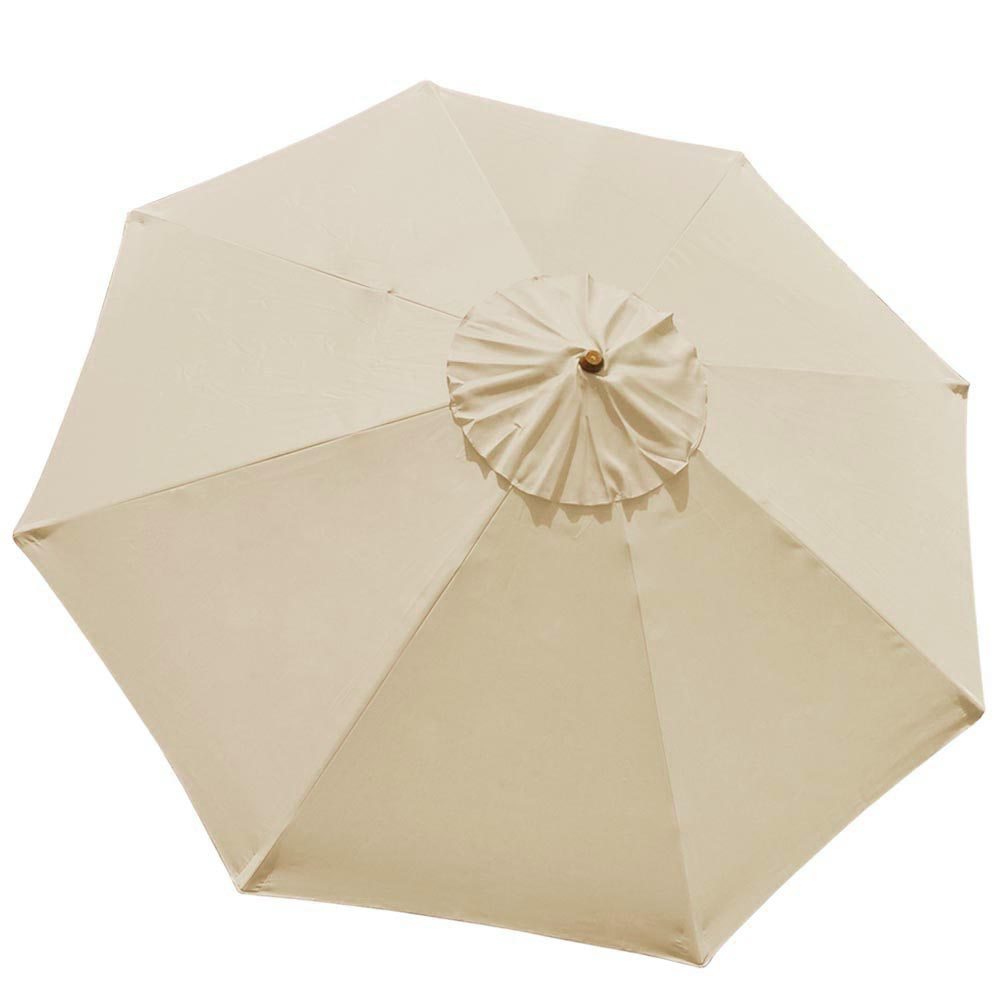 Patio Table Umbrella Replacement Canopy: 8'/9'/10'/13' Umbrella Replacement Canopy 8 Rib Outdoor