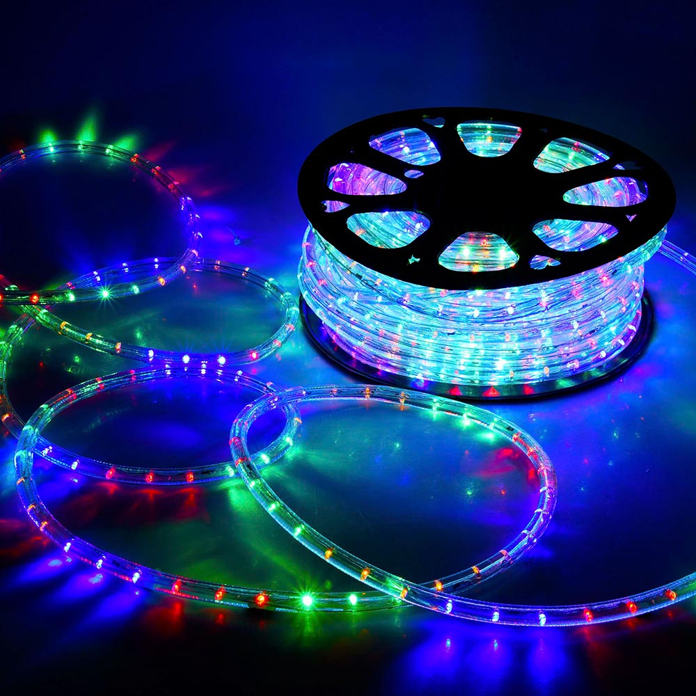 Delight 150 ft led rope light 110v party home christmas outdoor delight 150 039 ft led rope light 110v aloadofball Gallery