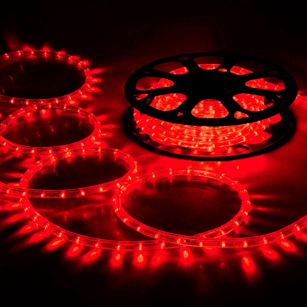 Delight 150 ft led rope light 110v party home christmas outdoor delight 150 039 ft led rope light 110v aloadofball Image collections