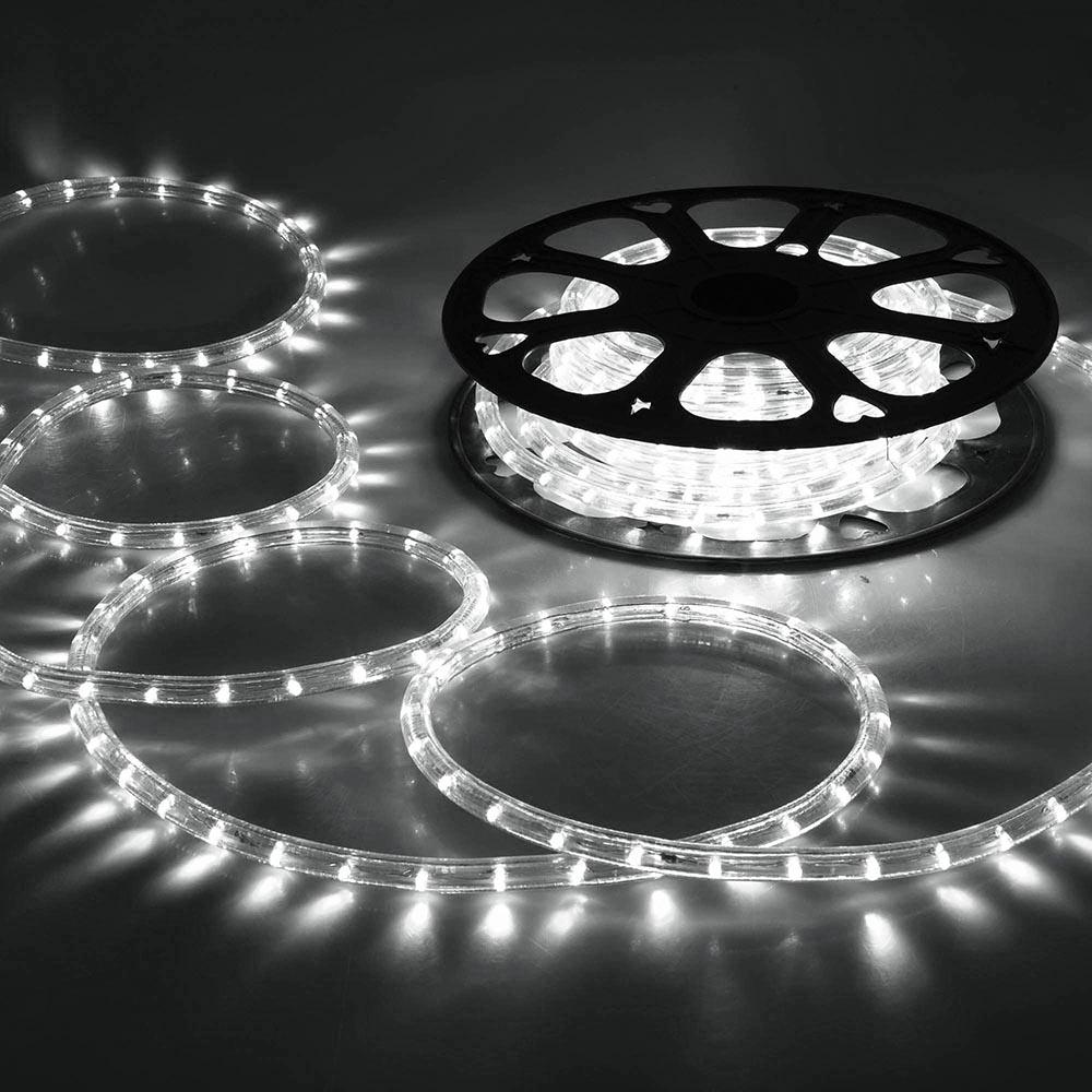 delight 150 039 ft led rope string light