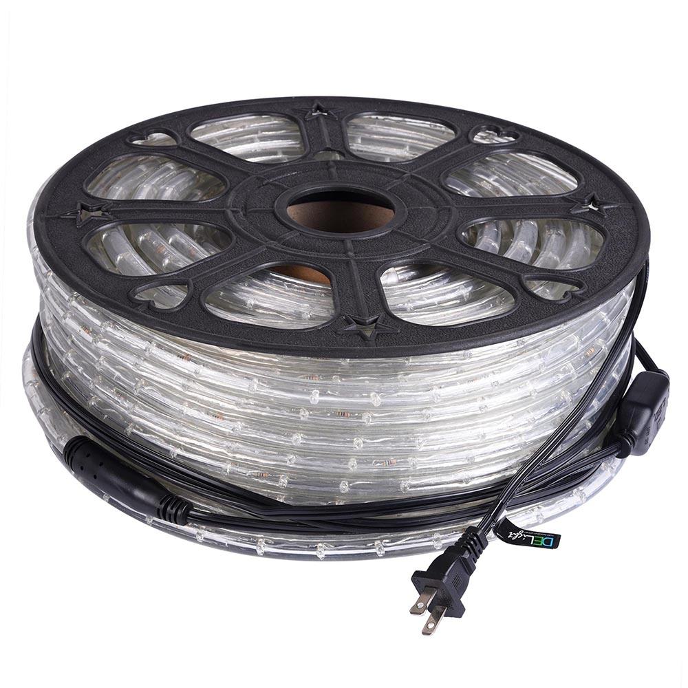 Led Rope Light Application: DELight™ 150FT LED Rope Light 2-Wire Outdoor Home