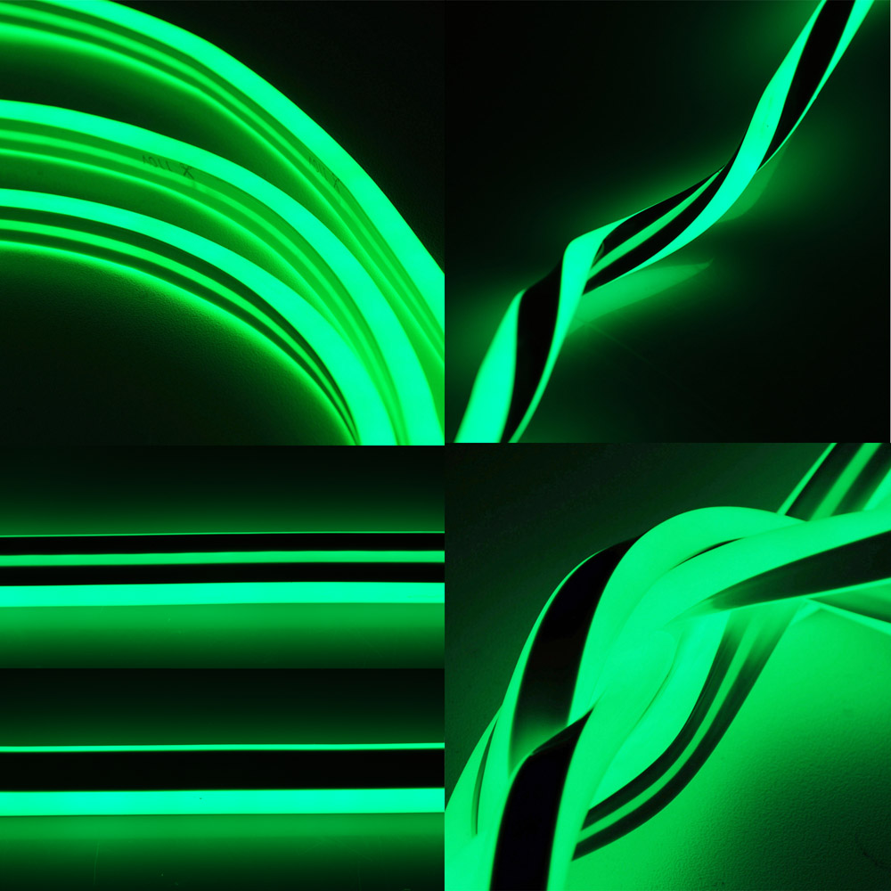50ft smd led neon rope light flex tube sign in outdoor holiday party decorative ebay. Black Bedroom Furniture Sets. Home Design Ideas