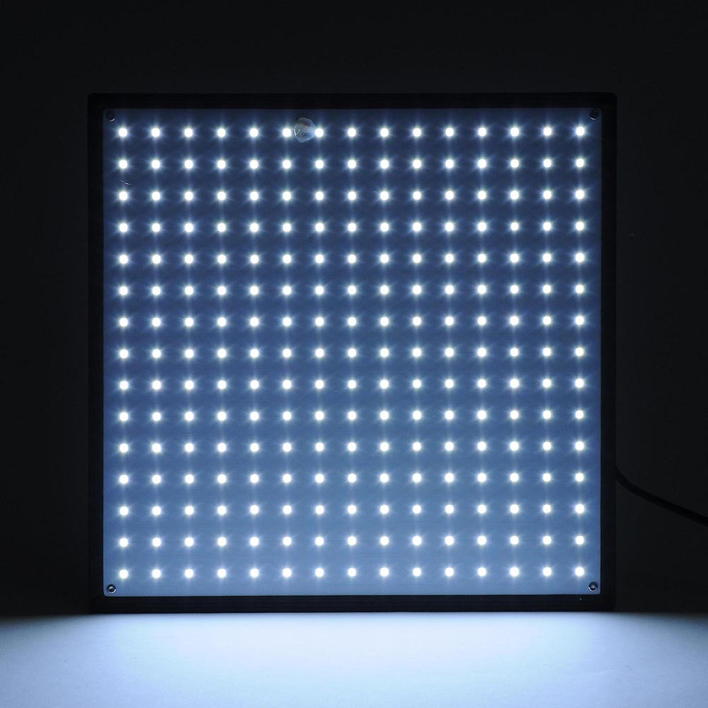 Details About 225 Smd Led Grow Light Hydroponic Plant Veg Indoor Ultrathin Panel White Lamp
