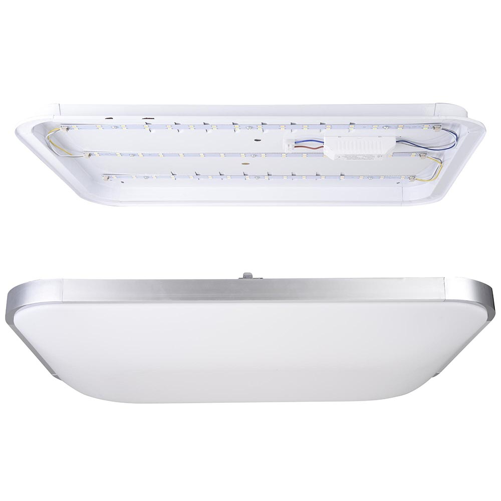 Led Ceiling Light Flush Mount Fixture Lamp Bedroom Kitchen Lighting 24w 36w 48w Ebay