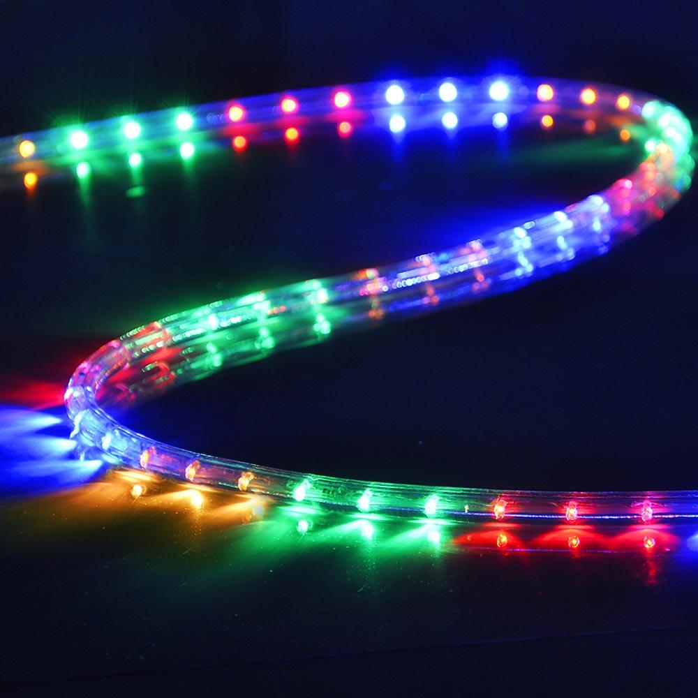 50' 150' LED Rope Light 110V Party Home Valentine Wedding Party Lighting 100 300 | eBay