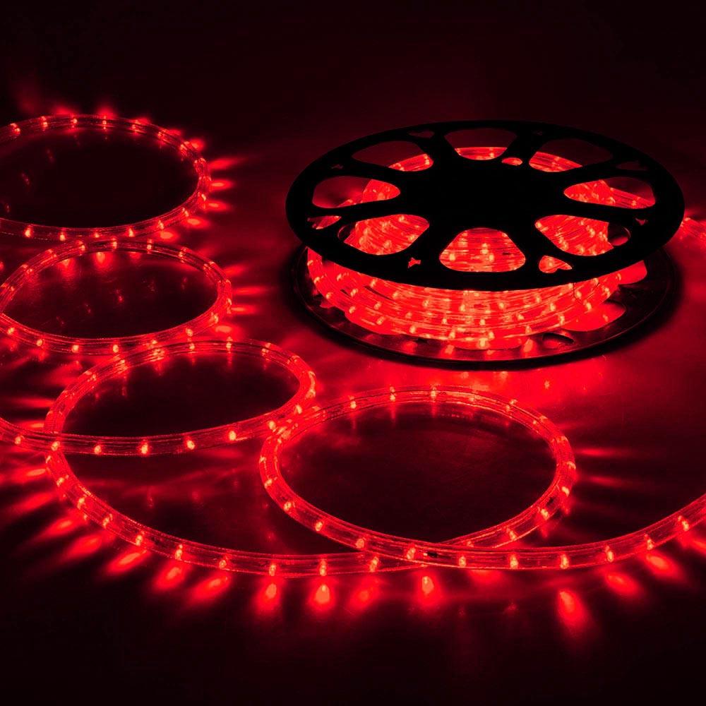 150' LED Rope Light 110V 2-Wire Party Home Christmas Outdoor Xmas Decor Lighting | eBay