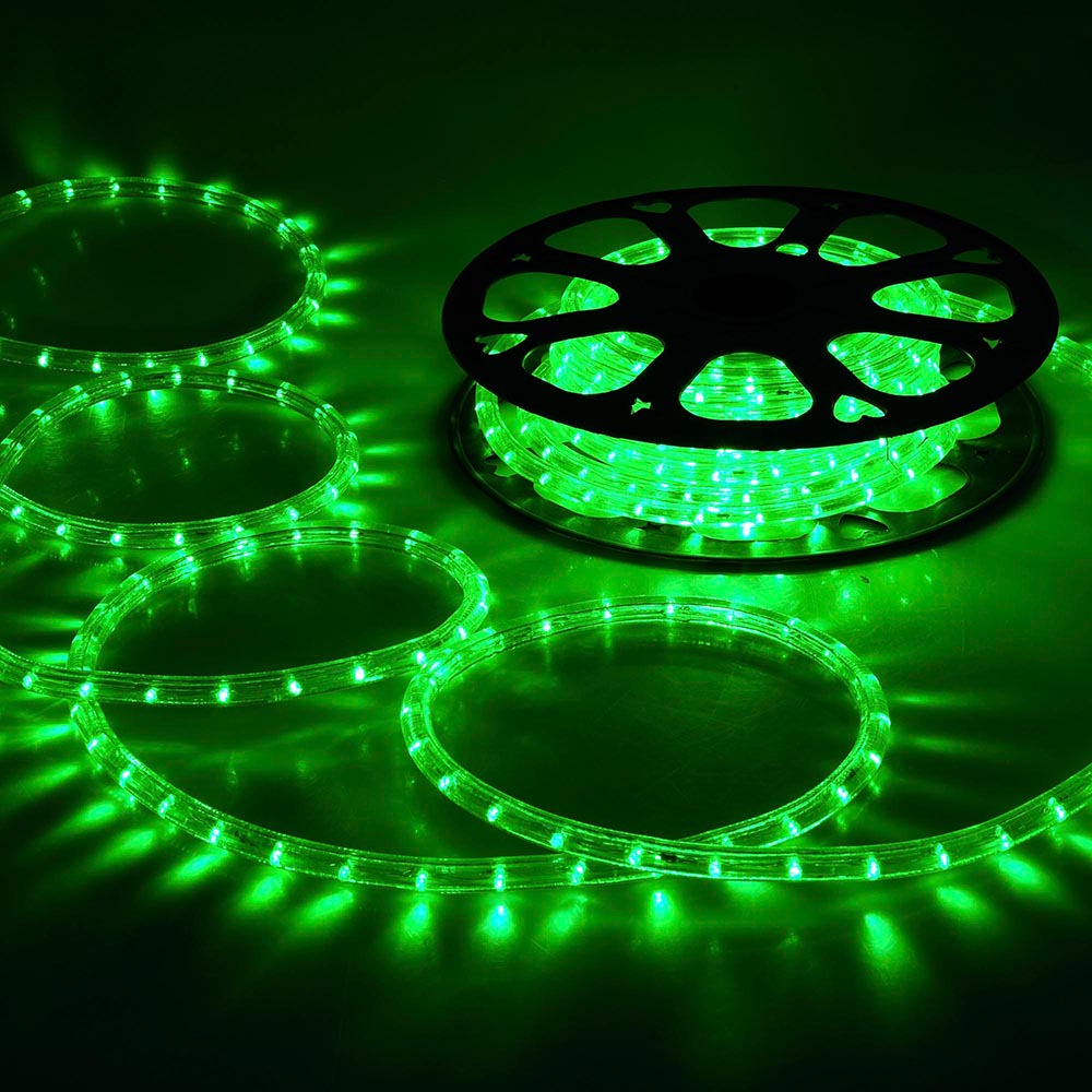 150' LED Rope Light 110V 2-Wire Party Home Christmas