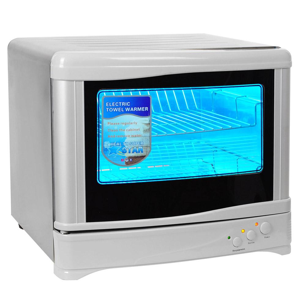 30l hot towel warmer cabinet salon uv sterilizer 2in1 spa facial nail equipment
