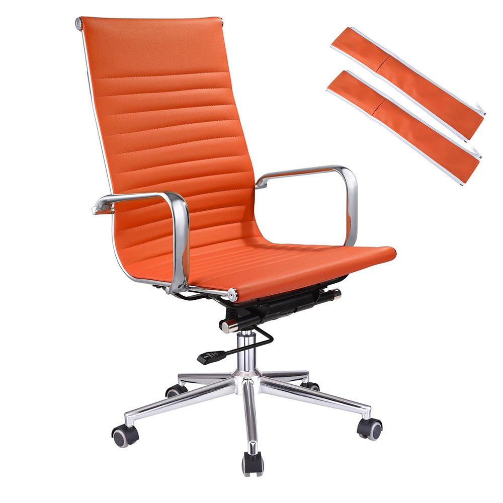Beau Ergonomic High Back PU Leather Office Chair Computer