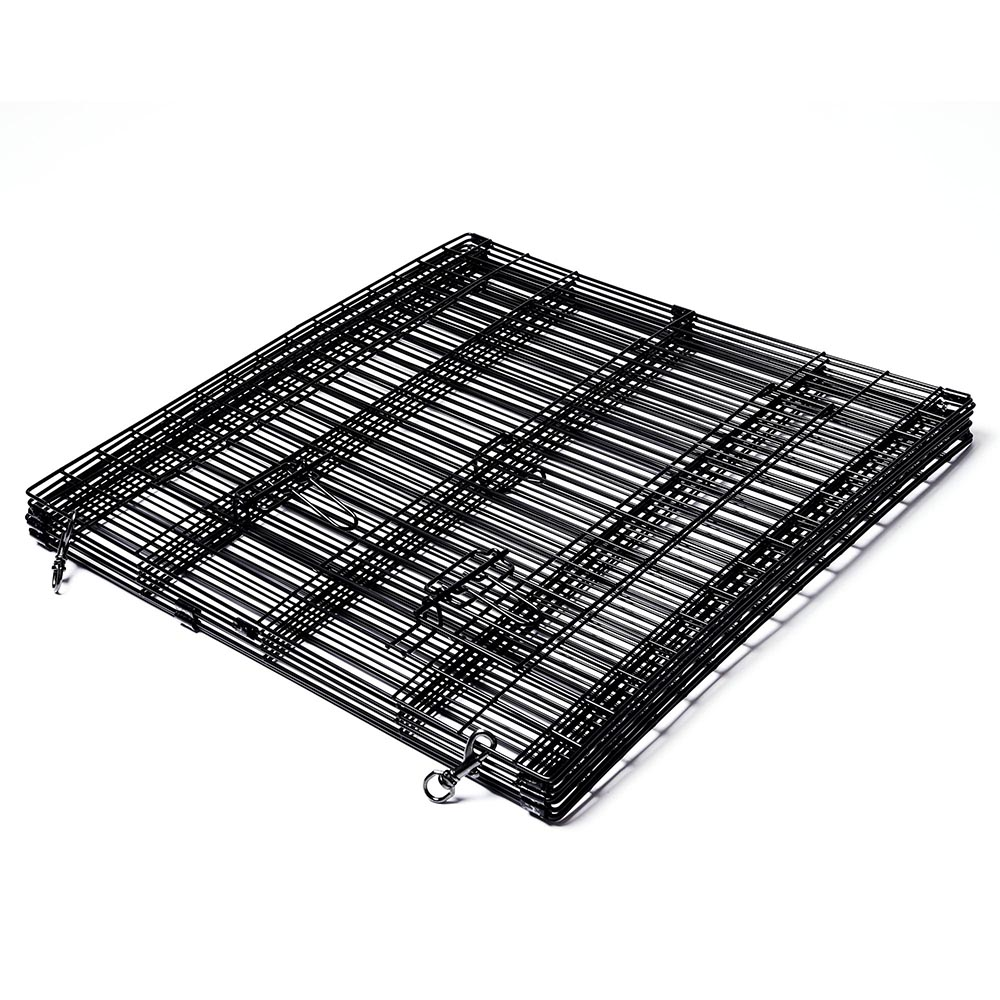 24-30-36-42-48-Dog-Pet-Playpen-Metal-Crate-Fence-Cage-8-Panel-Exercise-Play-Pen thumbnail 8