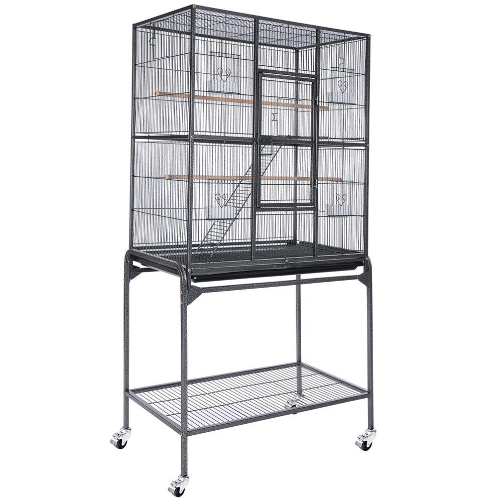 63 inch large parrot bird cockatiel parakeet finch cage gym perch stand 3 color ebay. Black Bedroom Furniture Sets. Home Design Ideas