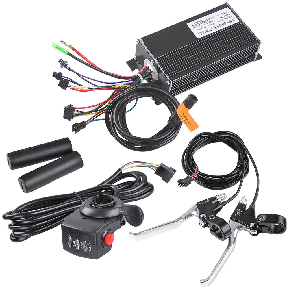 20-24-26-034-Front-Wheel-Electric-Bicycle-Motor-Conversion-Kit-Tire-750W-1000W thumbnail 45