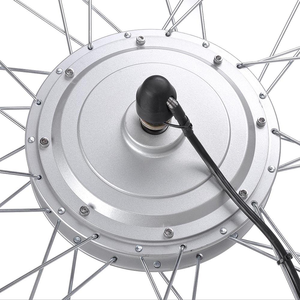 36v 750w 24 front tire electric bicycle e bike conversion. Black Bedroom Furniture Sets. Home Design Ideas