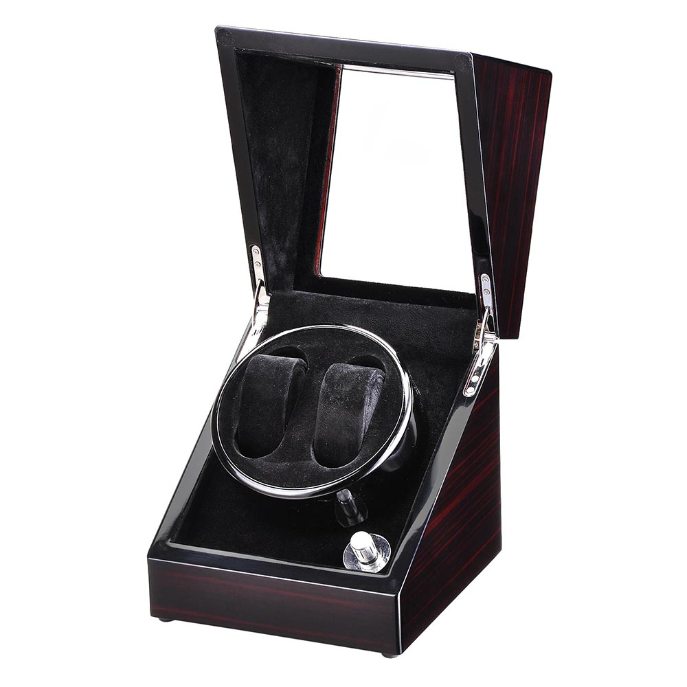 Automatic-Single-Dual-Watch-Winder-Wood-Display-Box-Case-Storage-Japan-Motor thumbnail 18