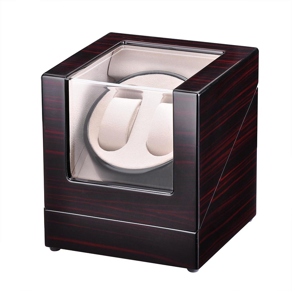 Automatic-Single-Dual-Watch-Winder-Wood-Display-Box-Case-Storage-Japan-Motor thumbnail 24