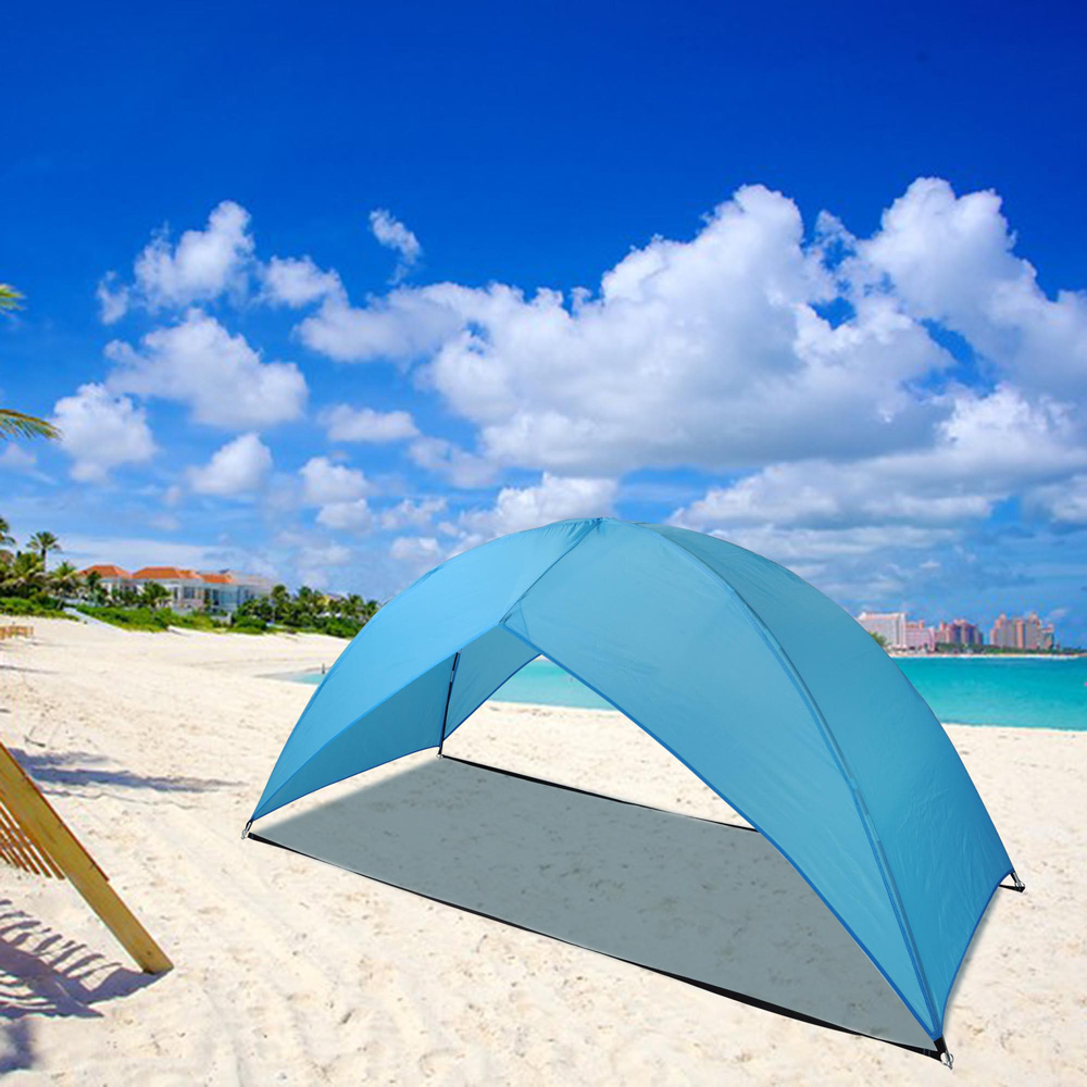 Beach Tent Canopy Shade : Popup portable beach tent canopy sun shade shelter outdoor