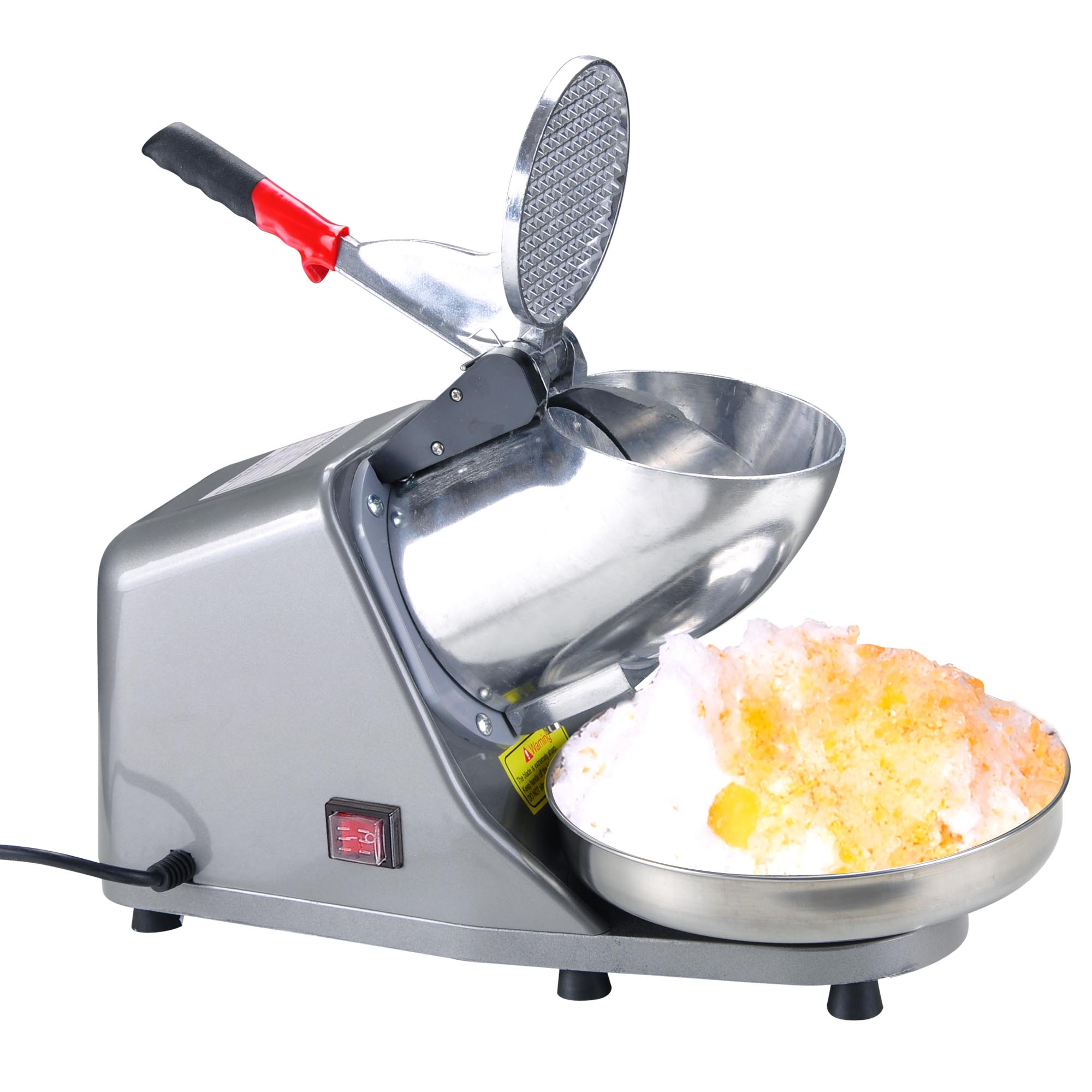 Commercial Electric 143lbs Snow Cone Ice Shaver Maker Machine Ice Crusher Sliver