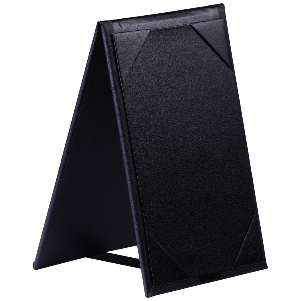 3-Sided 4 x 6 Displays2go Tabletop Holder Set of 50 SPINDLE46 Pizza Restaurant Table Menu Clear