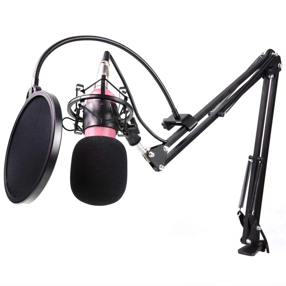 how to use a condenser mic
