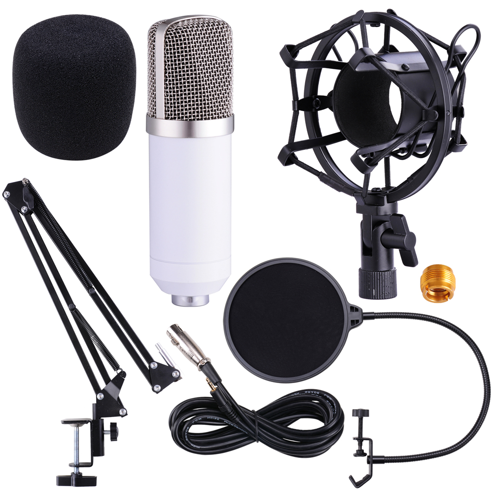 how to set up nexxtech microphone