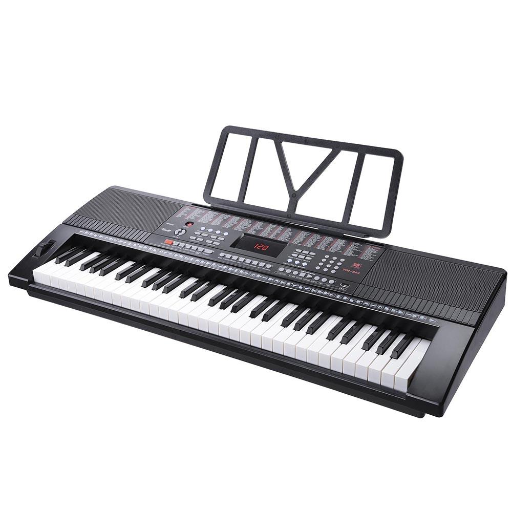 61-Key-Electric-Keyboard-Digital-Piano-Instrument-Kids-Talent-Practise-Xmas-Gift thumbnail 3