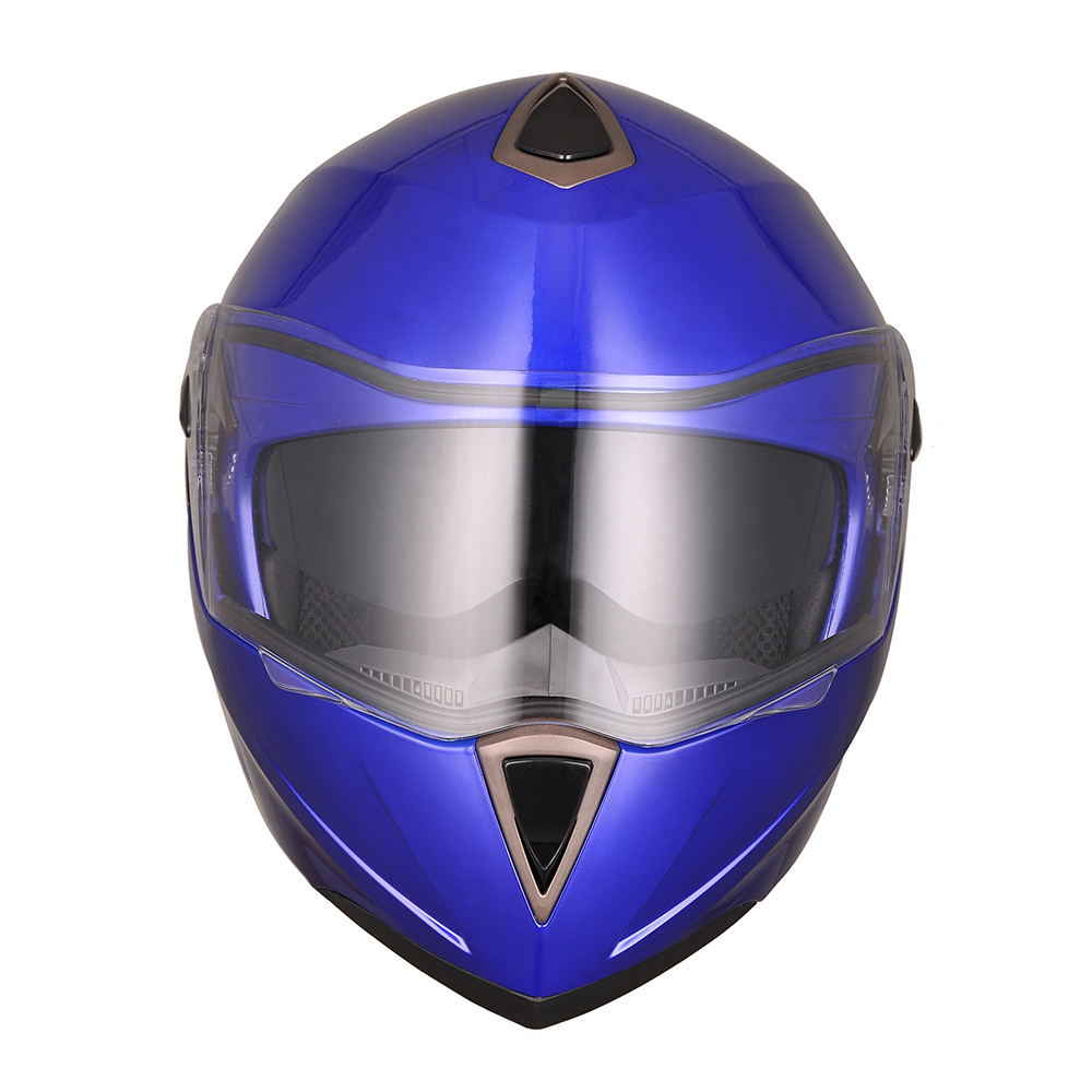 DOT-Flip-up-Modular-Full-Face-Motorcycle-Helmet-Dual-Visor-Motocross-Size-Opt thumbnail 24